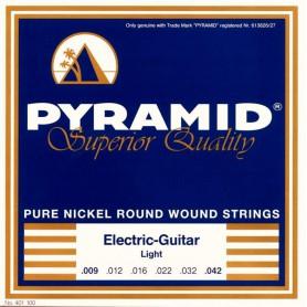 Cordes Elèctrica Pyramid Pure Nickel Round Wound 09-42