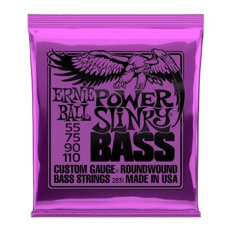 Cuerdas Bajo Ernie Ball 2831 Power Slinky 55-110