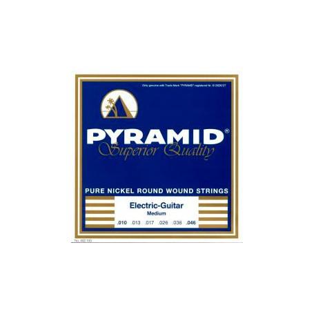 Cuerdas Eléctrica Pyramid Pure Nickel Round Wound 10-46-46