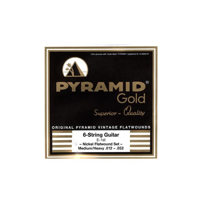 Cuerdas_Electrica_Pyramid_Gold_Flatwound_12-52