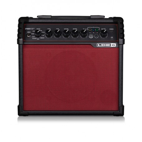 Line 6 Spider V 20 MKII Red Limited Edition