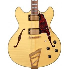 Guitarra Eléctrica D'Angelico Excel DC Natural