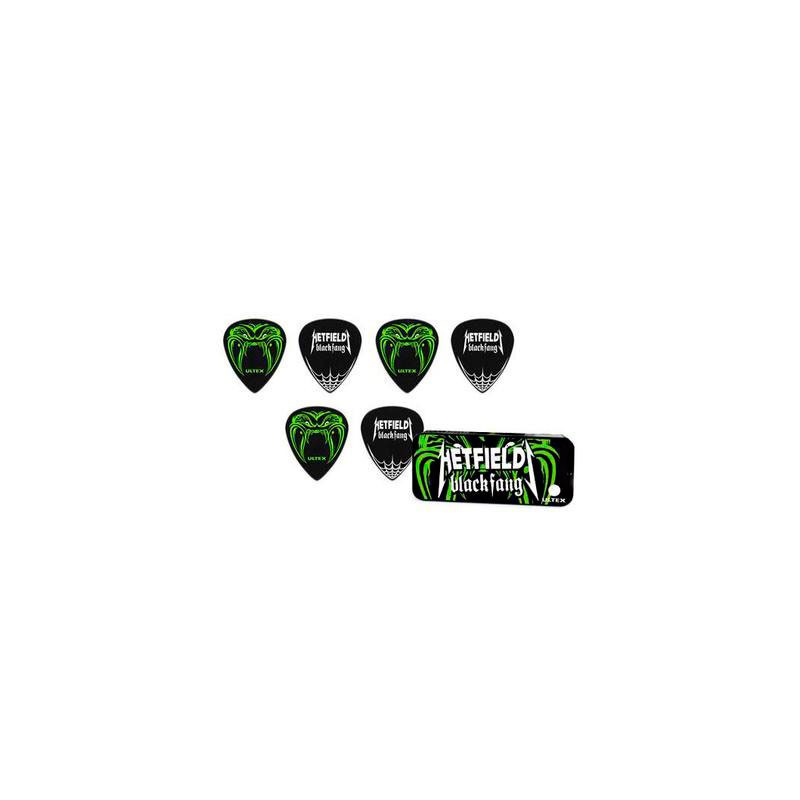 Púas Dunlop Hetfield Black Fang 0.73mm.