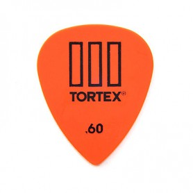 Dunlop Tortex III 0.60 mm. Picks