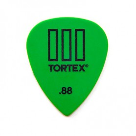 Dunlop Tortex III 0.88 mm. Picks