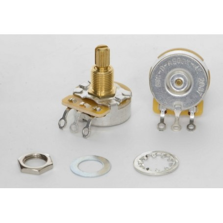 CTS 500K Vintage Audio Dimple Potentiometer Medium Shaft