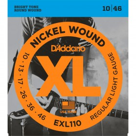 D´Addario EXL110 10-46 Electric Strings