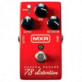 Pedal MXR M78 Custom Badass 78 Distortion