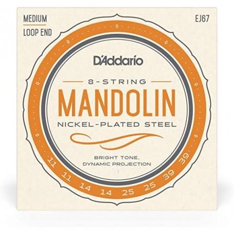 Cuerdas Mandolina D´Addario EJ67