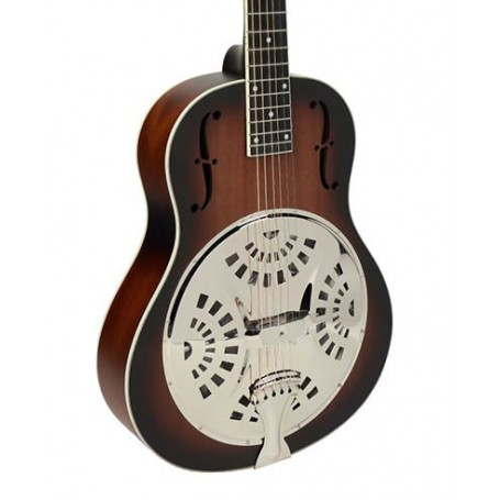Royall SPD14/DSB Wooden Body Spider 14 Resonator Guitar