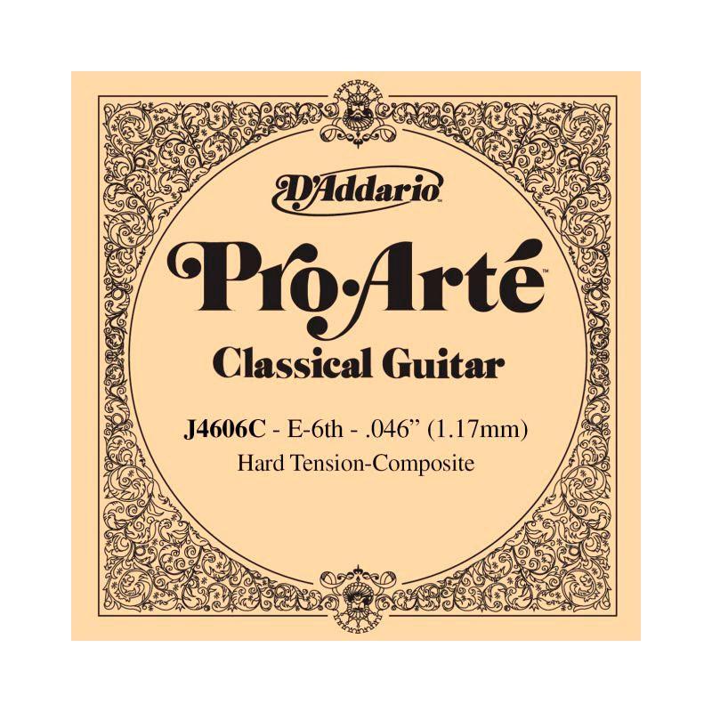 Cuerda Suelta D´Addario ProArte Composite J4606C 6ª E/Mi