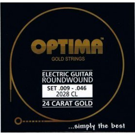 Cuerdas Eléctrica Optima Gold Strings 09-46