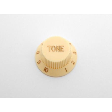 Botón de Potenciómetro de Tono Crema para Strat
