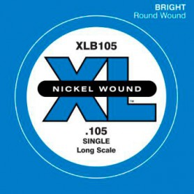 D'Addario Nickel Wound Single Bass String XLB105