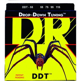 Cuerdas Bajo DR Strings DDT 55-115