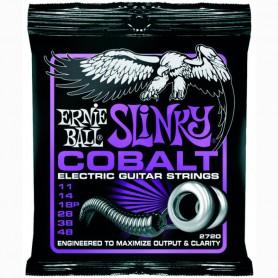 Cordes Elèctrica Ernie Ball 2720 Cobalt Power Slinky 11-48