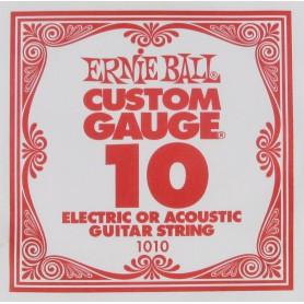 Corda Solta Ernie Ball 10 Plana per Elèctrica / Acústica