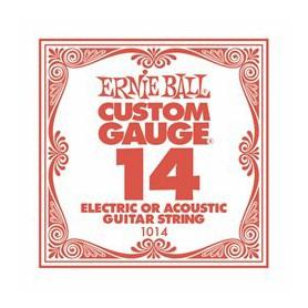 Cuerda Suelta Ernie Ball 14 Plana Eléctrica-Acústica