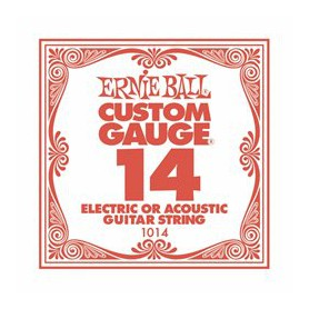 Ernie Ball 14 Single Plain Electric-Acoustic Guitar String