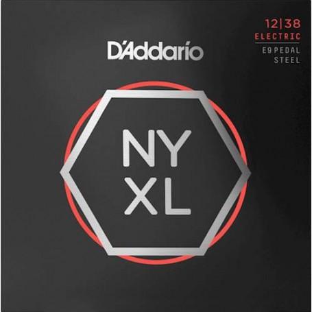 D'Addario NYXL1238PS Pedal Steel E9 12-38