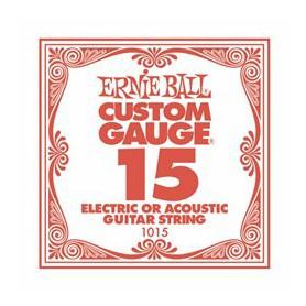 Corda Solta Ernie Ball 15 Plana per Elèctrica-Acústica