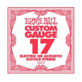 Cuerda Suelta Ernie Ball 17 Plana para Eléctrica-Acústica