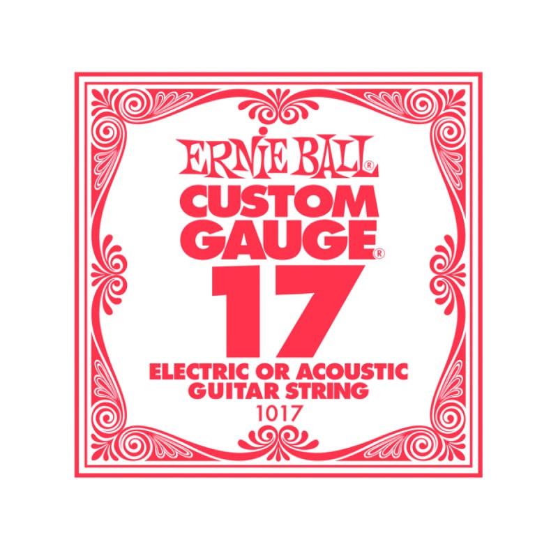 Cuerda Suelta Ernie Ball 017 Plana para Eléctrica-Acústica