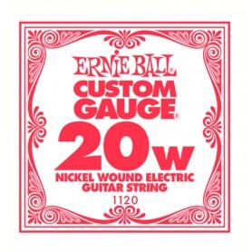 Cuerda Suelta Eléctrica Ernie Ball Entorchada 020