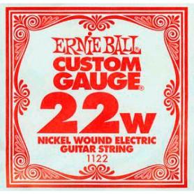 Corda Solta Elèctrica Ernie Ball Nickel entorxada 022