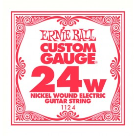Ernie Ball Nickel Wound Single String 024