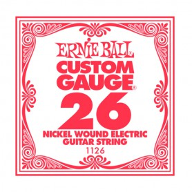 Ernie Ball Nickel Wound Single String 026