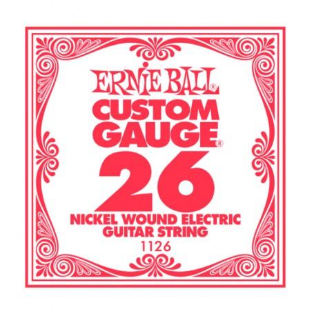 Cuerda Suelta Eléctrica Ernie Ball Entorchada 026