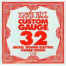 Corda Solta Elèctrica Ernie Ball Nickel entorxada 032
