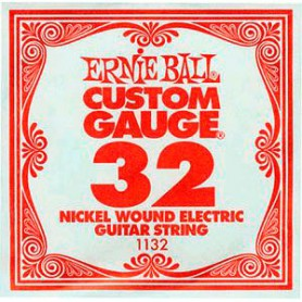 Ernie Ball Nickel Wound Single String 032
