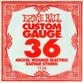 Corda Solta Elèctrica Ernie Ball Nickel entorxada 036