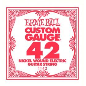Cuerda Suelta Eléctrica Ernie Ball Entorchada 042