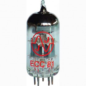 JJ Electronic ECC81-12AT7 Preamp Tube