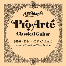D´Addario ProArte J4501 E Single Classical Guitar String