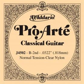 Cuerda Suelta D´Addario ProArte J4502 2ª B/Si