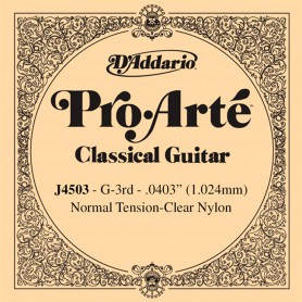 D´Addario ProArte J4503 G Single Classical Guitar String