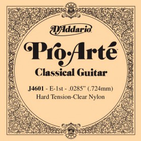 D´Addario ProArte J4601 E Single Classical Guitar String