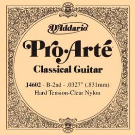 Cuerda Suelta D´Addario ProArte J4602 2ª B/Si