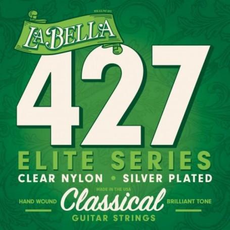 Cuerdas Clásica La Bella 427 Elite Clear Nylon