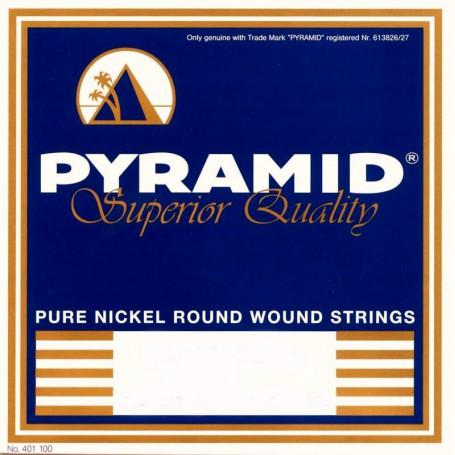 Cuerdas Eléctrica Pyramid Pure Nickel Round Wound 09-46