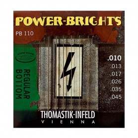 Cuerdas Eléctrica Thomastik Power Brights PB110 10-45