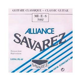 Cuerda Suelta Clásica Savarez Alliance 546J E/6ª Tensión Fuerte