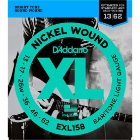 D´Addario EXL158 Baritone Light Electric Strings