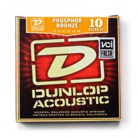 Cordes Acústica Dunlop Phosphor Bronze 10-48