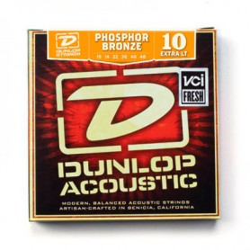 Dunlop Phosphor Bronze Acoustic Strings 10-48
