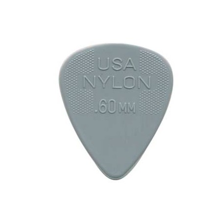 Púas Dunlop Nylon Standard 0.60 mm..60_mm.